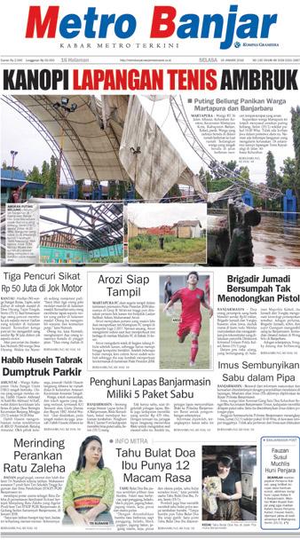 Metro Banjar Selasa, 16 Januari 2018