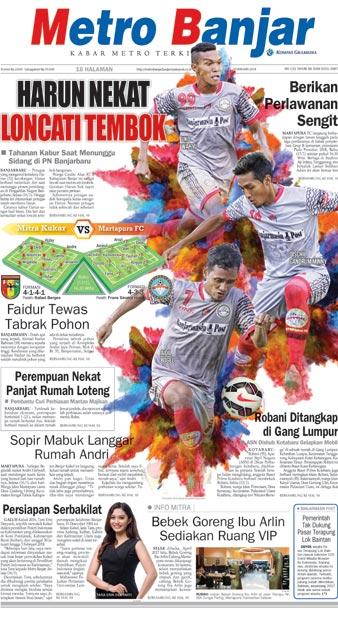 Metro Banjar Rabu, 17 Jan 2018