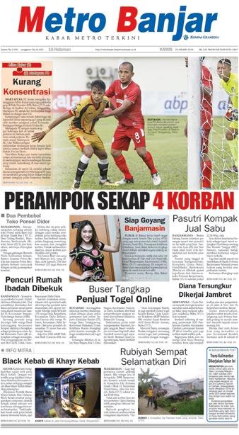 Metro Banjar Kamis, 18 Jan 2018