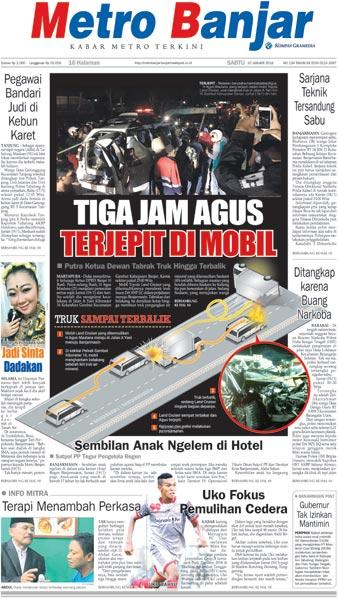 Metro Banjar Sabtu, 20 Jan 2018