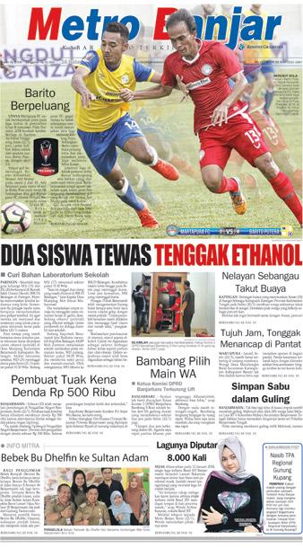 Metro Banjar Selasa, 23 Jan 2018