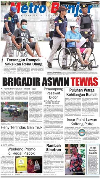 Metro Banjar Kamis, 25 Jan 2018