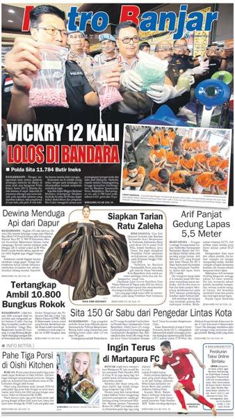 Metro Banjar Selasa, 30 Jan 2018